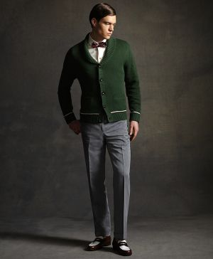 gatsby brooks brothers cardigan - shop this look - 1920s menswear.jpeg
